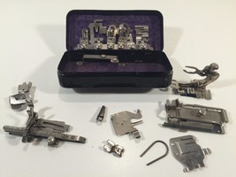 Vintage Lot of Greist Sewing Machine Attachments in Original Case - $39.99 CAD