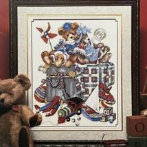 Stoney Creek Teddie's Trunk Of Treasures Cross Stitch Pattern Teddy Bear Toys 97 - $3.96