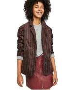 Free People B-Line Striped Blazer Jacket - $89.99