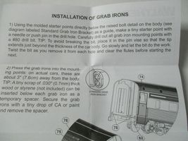 Walters Mainline Stock #910-200 Passenger Car Exterior Detailing Kit HO Scale image 6