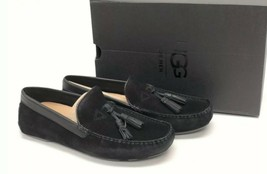 Ugg Australia Mens Marris Black Tassel Loafer Slip On Shoe Suede 1017319 - $69.99