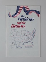 Ronald Reagan Vintage The Presidents and the Elections Booklet 1789 - 1980 - $29.65