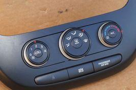 2014-16 Kia Soul Heater Climate Control Switch Panel Radio Trim image 4