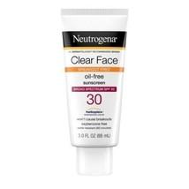 2 - Neutrogena Clear Face OIL-FREE Sunscreen - Spf 30 - 3.0 Fl. Oz. Each Tube - $16.99