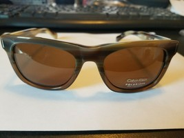 Calvin Klein POLARIZED Sunglasses CK8501SP COLOR 205 BROWN HORN ..BRAND NEW - $74.25