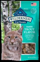 Blue Buffalo Wilderness Grain Free Trout Crunchy Cat Treats - $9.99