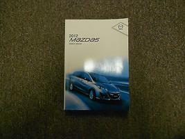 2012 Mazda 5 Mazda5 Mazda-5 Owners Manual Factory Feo Book 12 Dealership X - $89.09