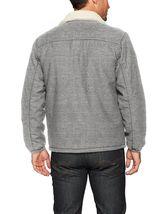 Levi's Men's Premium Multi Pocket Button Up Sherpa Coach Trucker Jacket image 7