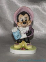 Vintage Disney WDP Minnie Mouse In Gardening Ou... - $19.24