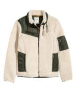 ERDEM x H&M Pile Jacket  Field Jacket Drawstring Shearling Effect SZ L S... - $296.01