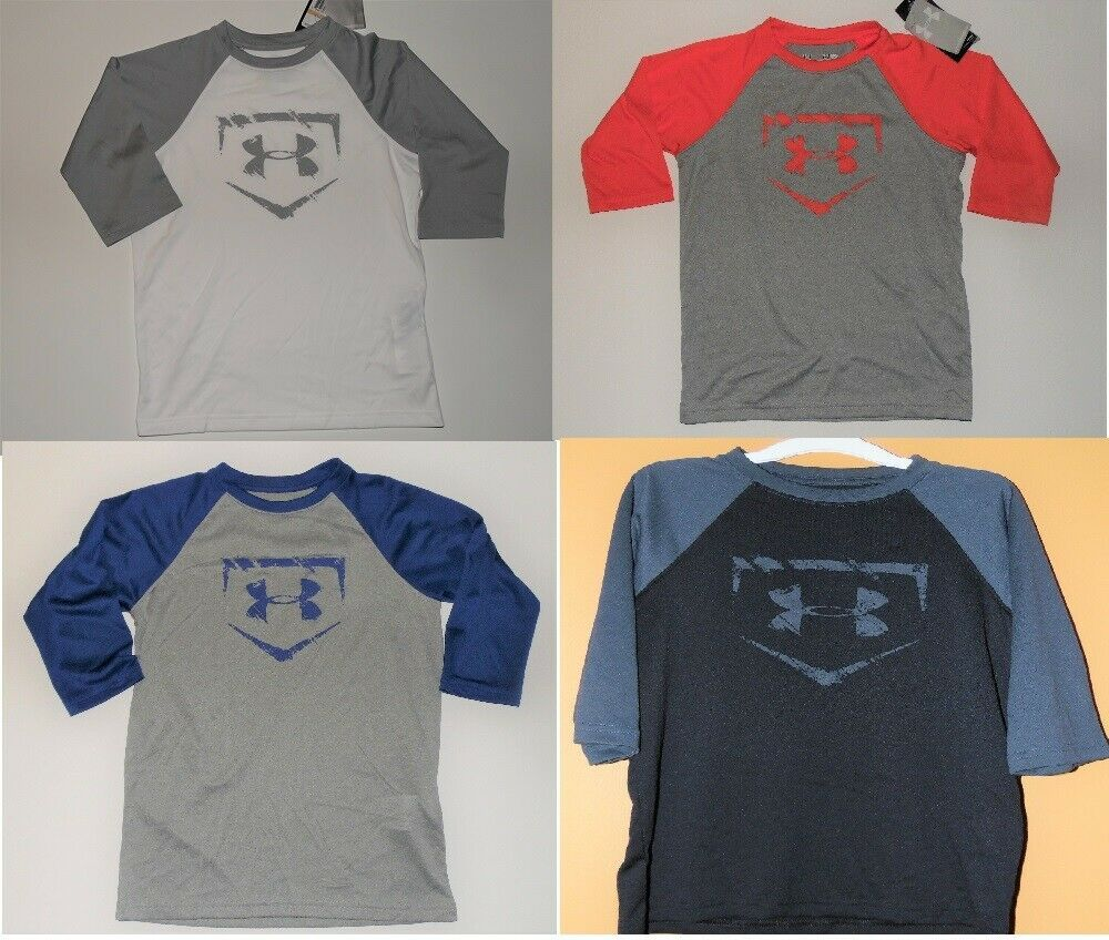 Under Armour Boys Heat Gear Shirt Youth Various Sizes and Colors