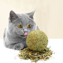 Catnip Toys Mint Ball Catnip Ball Playing Toy Supplies Pet Toy Product - $2.00