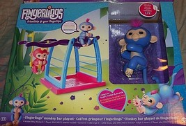 "Fingerlings Monkey Bar Play Set Includes Exclusive Baby ""Liv"" Fingerling Monkey - $29.02"