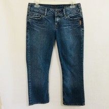 Silver Jeans Sasha Cropped Size 27 Medium Wash - $24.75