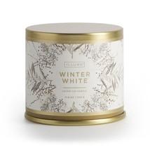 ILLUME SEASONAL WINTER WHITE LARGE TIN CANDLE 11.8oz - £20.02 GBP