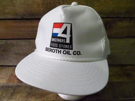 Brothers 4 Food Store BEROTH OIL CO Snapback Adjustable Hat Adult Cap - $3.95