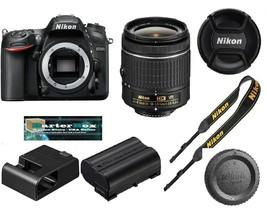 Memorial Sale Nikon D7200 24.2Mp Dslr Camera + Nikkor 18-55mm AF-P VR Le... - $747.89
