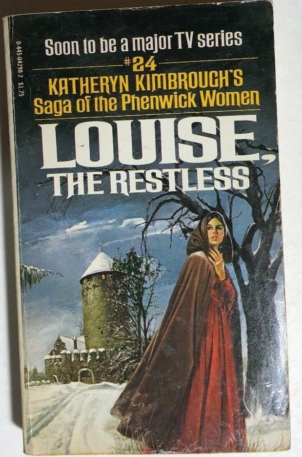 Primary image for LOUISE THE RESTLESS by Katheryn Kimbrough (1978) Popular Library gothic pb 1st