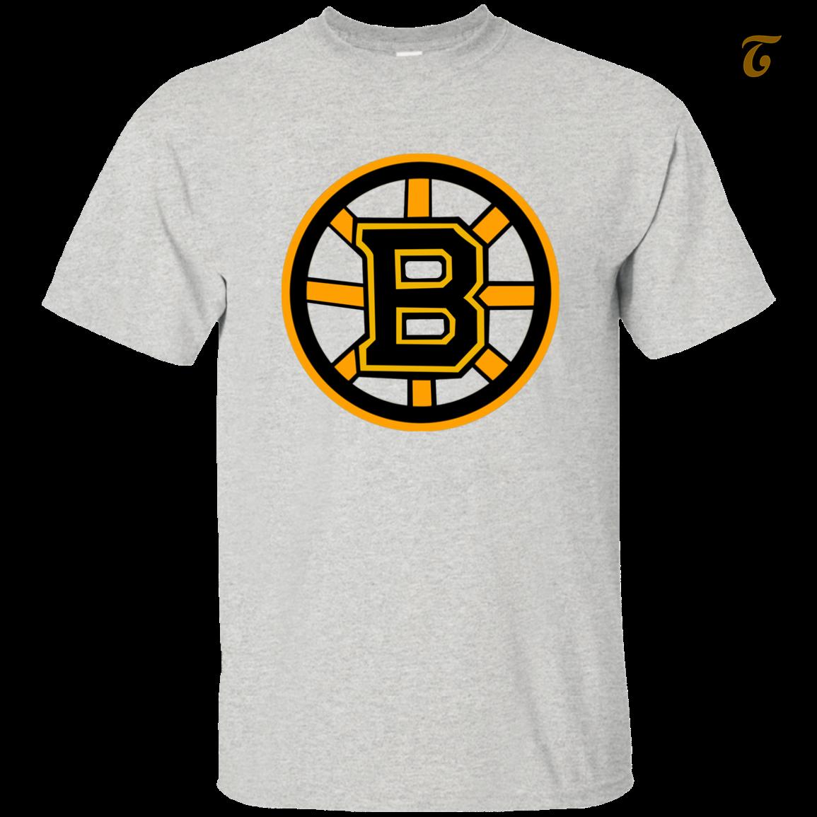 Boston, Burins, Hockey, Team, Men's T shirt - Ash