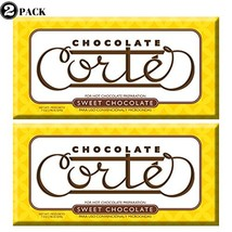 Chocolate Cortes Sweet Chocolate 2 Pack 7 Oz each