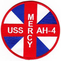 US Navy USS Mercy AH-4 Hospital Ship Patch NEW!!! - $11.87