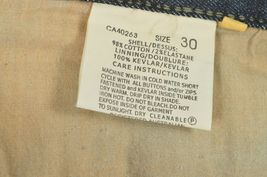Drayko Jeans Mens 30 x 37 Motorcycle Riding extra long padded - Slightly Used image 6