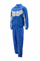Men's Work Out Jogging Gym Fitness Straight Leg Tracksuit Set w/ Defects 3XL image 2