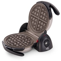 Presto Cooking Round Electric Belgian Waffle Baker Cook Breakfast Maker ... - $69.10 CAD