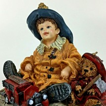Boyd's Bear Fire Chief Fireman Truck Dollstone Austin & Allen Christmas ... - $21.19