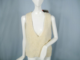 NEW! NWT! Super Rare Vintage Diesel Sweater Vest! M Deep Neckline Cool  ... - $99.99