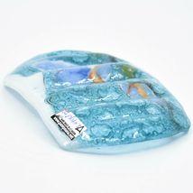 Fused Art Glass Bluebirds Bird Design Soap Dish Handmade in Ecuador image 4