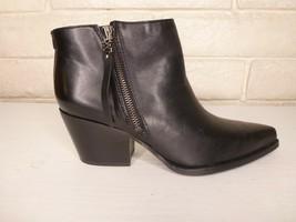 Sam Edelman Walden Ankle Boots Size 8M -- Women's -- Black Modena Calf L... - $99.95