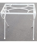 Beautiful Vintage Wrought Iron Outdoor/Indoor Accent Table Frame - VGC -... - $118.79