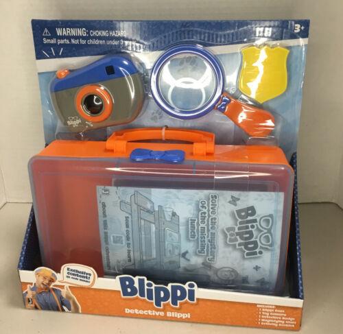 NEW, DETECTIVE BLIPPI ROLEPLAY SET, LET'S SOLVE THE CASE - $26.17