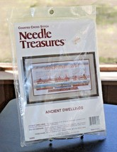 Needle Treasures Ancient Dwellings Counted Cross Stitch Kit 02658 Sealed NEW - $17.80
