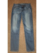 AMERICAN EAGLE 0 Stretch Skinny Denim Jeans 26 x 29 Womens Slim - $15.45