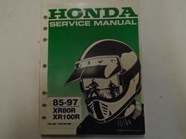 1985 - 1997 Honda XR80R XR100R Service Werkstatt Handbuch Fabrik Oem Buch - $38.18