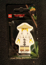 Sensei Wu Lego Ninjago Movie Character Eraser \Warner Bros. - $4.94