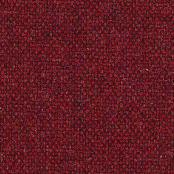 1.75 yds Camira Upholstery Fabric Main Line Flax Parsons Red Wool MLF14 DM
