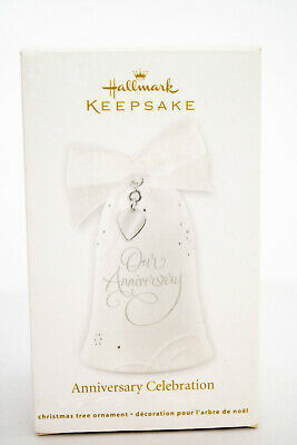 Hallmark: Anniversary Celebration - No CHARMS - Porcelain - NO DATE ON BELL image 12
