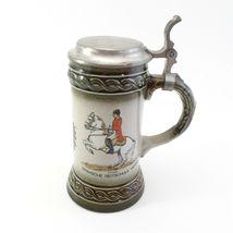 West Germany Stein Piaffe Spanische Reitschule Vienna Souvenir Mug With Lid  image 3