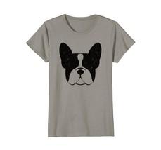 French Bulldog T Shirt Vintage Print Silhouette - $19.99+