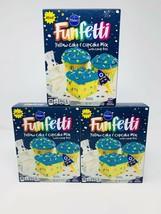 PILLSBURY FUNFETTI YELLOW CAKE & CUPCAKE MIX WITH CANDY BITS 15.25 OZ LO... - $16.83