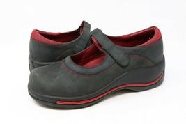Dansko Courtney Womens Sz 37/6.5-7 Mary Jane Wedges Shoes Suede Nubuck B... - $24.99