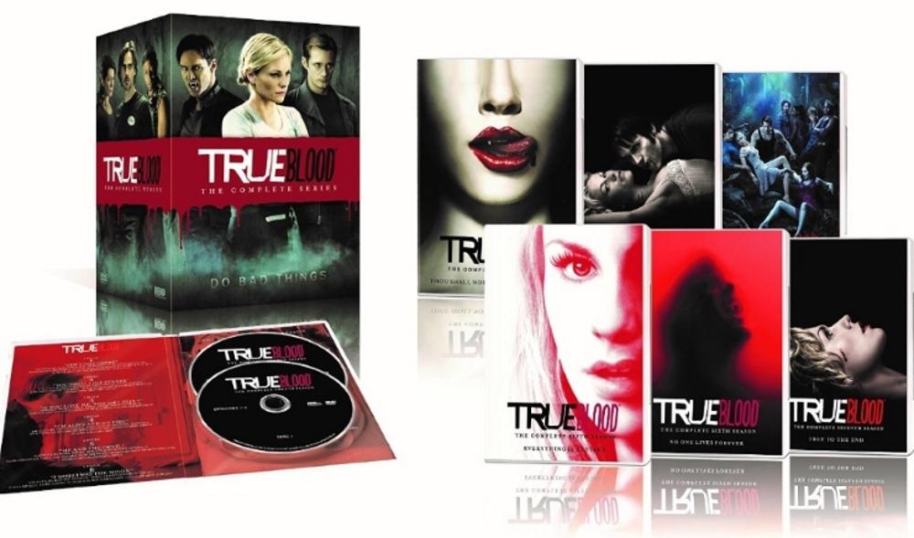 True blood the complete series season 1 7  dvd 2014 33 disc  1 2 3 4 5 6 7 vamp