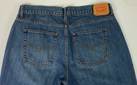 LEVI  550 BOY'S RELAXED FIT JEANS 18 Husky 36 x 29  - $14.80