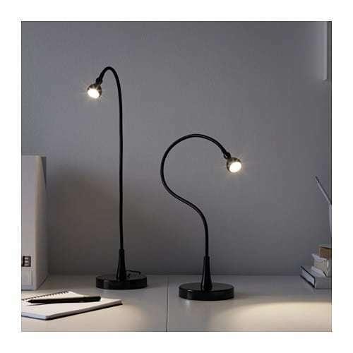 IKEA, JANSJÖ,  Super-flexible Work Lamp Built-in LED Light, in Various Colors