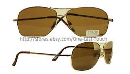 STUDIO 35*UV Protection Sunglasses RELEVANCE For Women & Men TREND Gold ... - $5.41