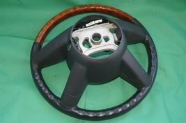 05-07 Chrysler 300 300c Leather Woodgrain Steering Wheel image 11