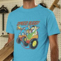 Speed Buggy t-shirt retro Saturday morning Cartoons 1970s 1980s heather blue tee image 3